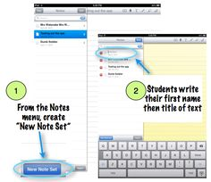 How to teach close reading of complex text and annotation with the iPad.