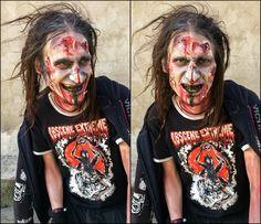 Halloween Zombie Halloween Zombie, Halloween Face Makeup, Hairstyle, Hair Job, Hair Style, Hairdos, Hair Styles, Updo, Style Hair