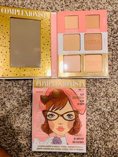 Brand new no box complexionista palette Makeup And Beauty Blog, Lip Gloss Set, Benefit Cosmetics, Eyeshadow, Palette, Box, Face, Make Up, Eye Shadow