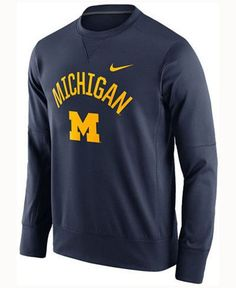 NCAA Michigan Wolverines Mens Circuit Crew Sweatshirt