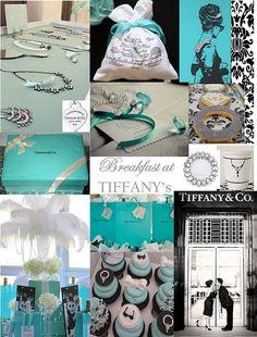 Breakfast at Tiffany's inspired bridal shower