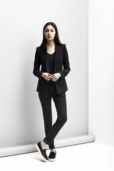 LOOKAST  CHAPTER #2 - Black single button jacket