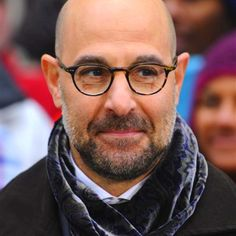 Stanley Tucci, how every baldie should age..