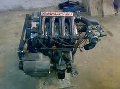 Original VW 16V G60 engine. Only a few of them were made for rally.