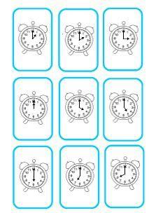 Jeux pour lire l'heure CP-CE1 - Fée des écoles                                                                                                                                                                                 Plus