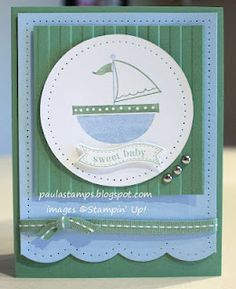 Love it and love this stamp set!  Stampin' with Paula