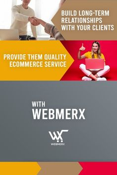 Convert shoppers by selecting the best ecommerce platform. Webmerx is an ecommerce platform that provides quality ecommerce service and makes your brand stand out from the competitors. By providing them quality service you can easily build long-term relationships with your clients. ☺️ Ecommerce Solutions, Ecommerce Platforms, The Selection, Relationships, How To Make, Relationship, Dating