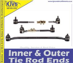 Read more about Tie rod ends. For your safety, we can do an inspection for you and do the replacement if necessary at our Delmas or Bronkhorstspruit branches. Auto Parts Store, Brake Rotors, Oil Change, Branches, Safety, Tie, Security Guard, Cravat Tie, Ties