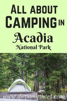 If you are taking a road trip or vacation to Acadia National Park, you should consider camping! Camping in Acadia will get you closer to some of the major points of interest, hikes, and viewpoints in the park. Use this to learn all about Acadia's different campgrounds and pick the best one for your vacation! Acadia National Park, National Parks, Outdoor Gear, Are You The One, Closer, The Good Place, Road Trip, Scenery, Camping