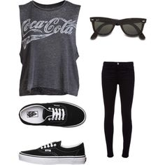 A fashion look from August 2012 featuring Chaser tops, J Brand jeans and Vans sneakers. Browse and shop related looks.