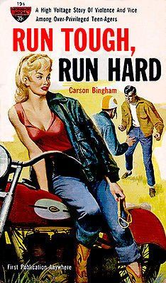 Run Tough, Run Hard - 1964 - Pulp Novel Cover Poster
