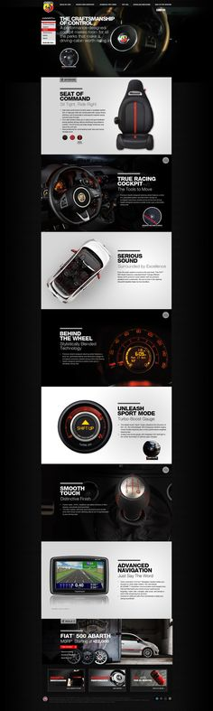 www.fiatusa.com/abarth, #it #web #design #layout #userinterface #website #webdesign