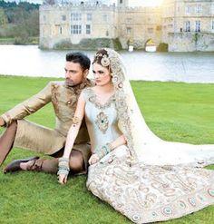 amazing wedding shot - looks like a fairytale come true!!