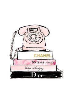New Fashion Ilustration Chanel Paris Art Prints Ideas Mode Collage, Wall Collage, Watercolor Fashion, Watercolor And Ink, Fashion Painting, Watercolor Painting, Watercolour Illustration, Art Chanel, Chanel Paris