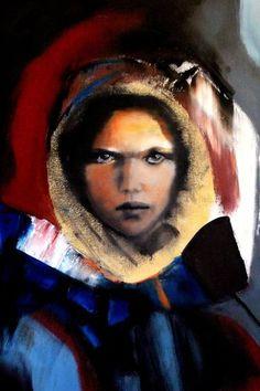 """Saatchi Art Artist GINA MARRINHAS; Painting, """"RUN AWAY FROM FEAR"""" #art"""