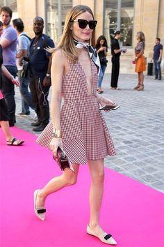 La apuesta de Olivia Palermo durante el desfile de Schiaparelli