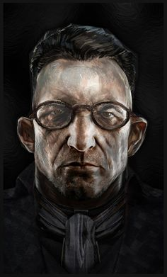 His mind refused to bring up the image of Rose ever again, but he was never able to completely undo the damage. Character Concept, Character Art, Concept Art, Character Design, Vampires, Cyberpunk Character, Call Of Cthulhu, Black And White Painting, Weird Stories