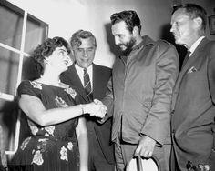 vintage everyday: Fidel Castro visits New York, 1959