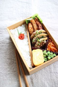 REBLOGGED - Japanese Bento Boxed Lunch 弁当