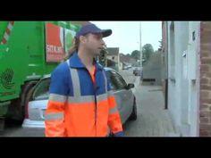 ▶ Afval ophalen en verwerken (14/10/09) - YouTube