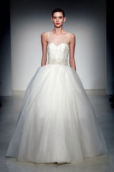 The Best Wedding Dress Trends of 2013 (Shop Them at Every Budget!): Weddings: glamour.com