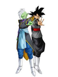Goku Black And Zamasu by eduardoalopez