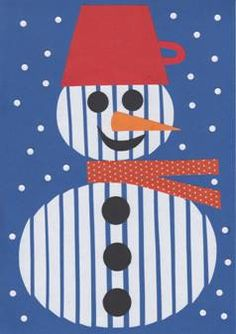 Sněhulák – roláž School Age Activities, Diy And Crafts, Arts And Crafts, Virtual Art, Noel Christmas, Kids And Parenting, Quilling, Art Lessons, Snowman