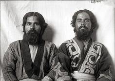 Ainu men at Louisiana Purchase Exposition, Saint Louis, 1904 Ainu People, Louisiana Purchase, Old Portraits, Cultural Studies, Black History Facts, Anthropology, Traditional Art, Old Photos, Documentaries