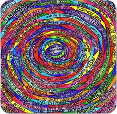"""Sybil MacBeth's 2007 book Praying in Color offers simple instructions on an interesting form of prayer known as """"prayer doodling"""". For this week's Friday Five, I decided to…"""