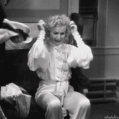 Carole Lombard throws a tantrum in Twentieth Century (1934).