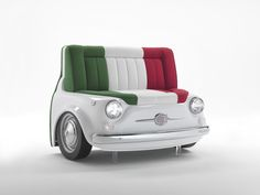 "Celebrating Italy with ""FIAT 500 Design Collection"" by Meritalia.   Available at Essess Designer FABBRICA showroom. www.essessltd.com"