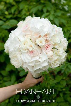 Wiązanki Ślubne, Olsztyn, Ślub, hortensja, róża, róża gałązkowa, #bukiet