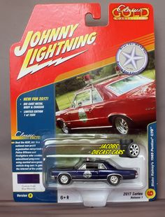 1:64 JOHNNY LIGHTNING CLASSIC GOLD 2017 1B - BLAKE RAINEY'S 1965 PONTIAC GTO #JohnnyLightning #Pontiac