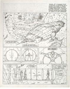 Incal #4, pg. 51, in christianstoklas's MOEBIUS (Jean Giraud) Comic Art Gallery Room
