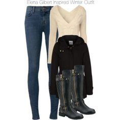 Elena Gilbert Inspired Winter Outfit