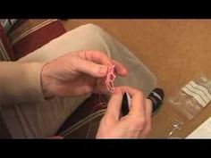 Demonstration of my method of beading tatting and also how to prevent a twisted picot at the end of a motif. by Linda S Davies