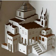 Cool and Creative Paper Architecture Art
