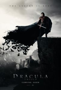 Universal has released the first Dracula Untold poster; Dracula Untold stars Luke Evans, Sarah Gadon, Diarmaid Murtagh, Dominic Cooper, and Samantha Barks. Dracula Untold 2, Film Dracula, Dracula 2014, Vampire Dracula, New Movies, Movies To Watch, Good Movies, Movies Online, Horror Films