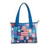 American Pride Patriotic Tote Bag by The Bradford Exchange
