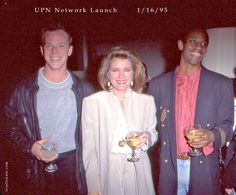 1/16/95 Robert Duncan McNeill Kate Mulgrew Tim Russ UPN Network Launch