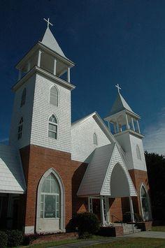 Springfield GA Holy Trinity Evangelical Lutheran Church Effingham County Photo Copyright Brian Brown Vanishing South Georgia