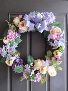 spring wreaths | via leslie gustafson