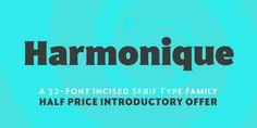 Font dňa – Harmonique Sans Serif Typeface, Signwriting, Font Family, New Fonts, Identity Design, Brand Identity Design