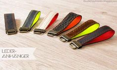 Schlüsselanhänger, basteln, DIY, selber machen, einfach, leicht, Leder, Gurtband, Neon, Rohlinge, schnell, Nähen, Stoff, Geschenk, Idee, Inspiration, Reste, Upcycling