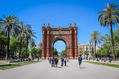 Arc de Triunfo, Barcelona, Spain
