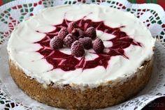Poľné kvety: Vanilkový cheesecake s malinami