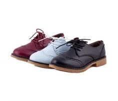 College-style-loafer-round-toe-Oxfords-Lace-Ups-Strappy-women-shoes $29.13