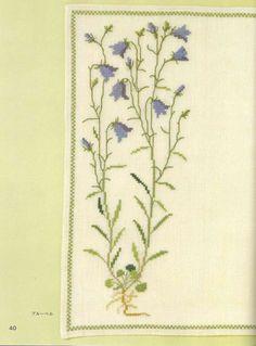 Gallery.ru / Фото #29 - Gerda Bengtsson - Wild Flowers in Cross-Stitch - tymannost