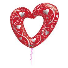 A good gift for wife:Big Heart Balloon Romantic Gifts For Wife, Best Gift For Wife, Birthday Gift For Wife, Valentine Day Gifts, Valentines, 25th Anniversary Gifts, Heart Balloons, Online Gifts, Personalized Gifts
