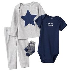 Carter's Just Like Daddy Bodysuit Set - Baby